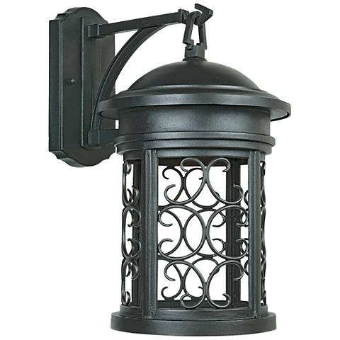 "Ellington 13"" High Oil-Rubbed Bronze Outdoor Wall Light"