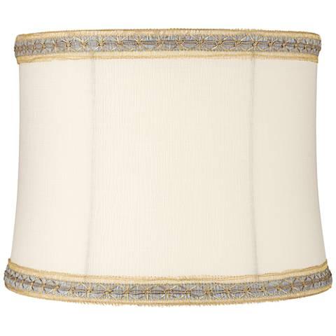 Moffat Cream Soft Drum Lamp Shade 12x13x10 (Spider)