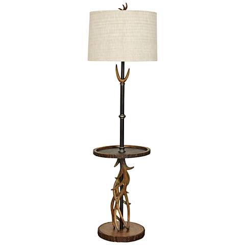 William Mangum Brown Southern Pines Floor Lamp