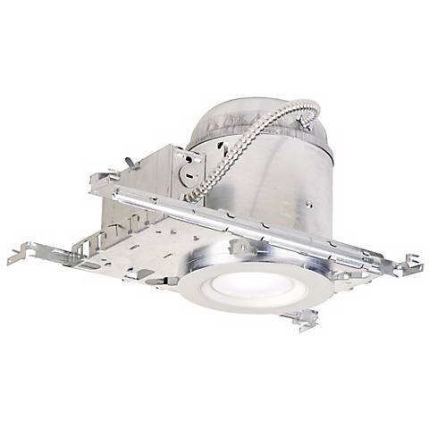 "6"" IC New Construction 11 Watt Complete Recessed Kit"