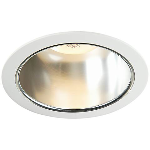 "Luminaire 6"" Line Voltage Clear Reflector Recessed Trim"