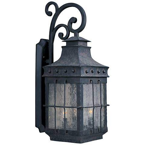 "Old World 26"" High Outdoor Wall Light"