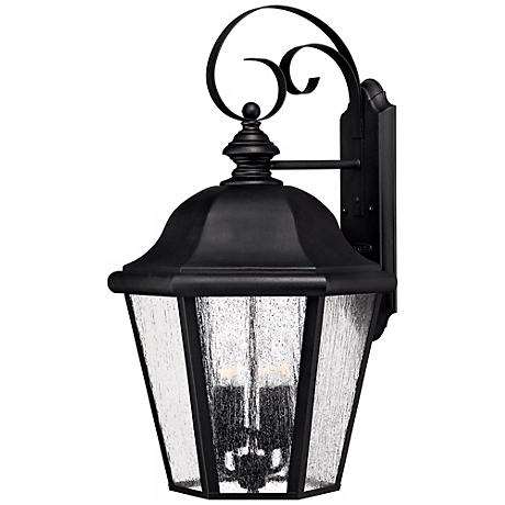 "Edgewater Collection Black 25 1/2"" High Outdoor Wall Light"