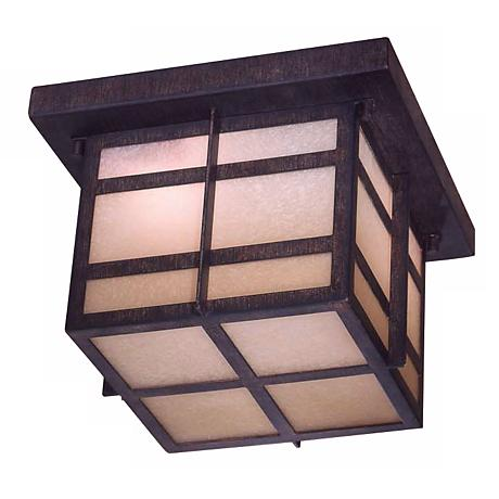 """Delancy 10"""" Wide Indoor - Outdoor Energy Star Ceiling Light"""