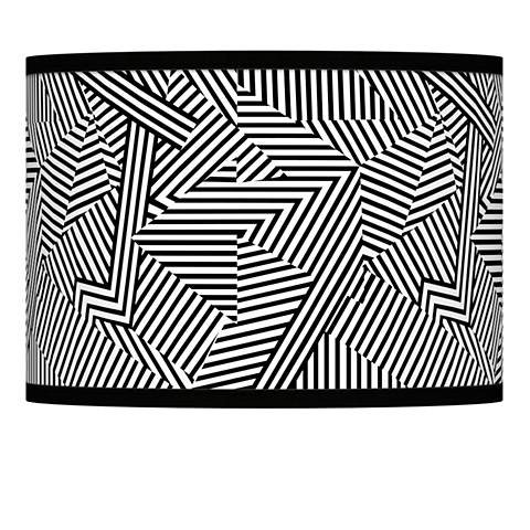 Labyrinth Giclee Lamp Shade 13.5x13.5x10 (Spider)
