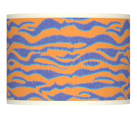 Sunset Stripes Giclee Lamp Shade 13.5x13.5x10 (Spider)