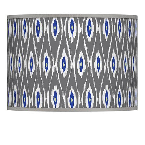 American Ikat Giclee Lamp Shade 13.5x13.5x10 (Spider)