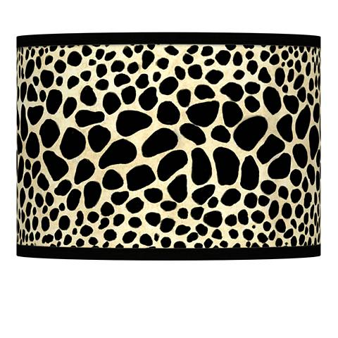 Leopard Giclee Lamp Shade 13.5x13.5x10 (Spider)