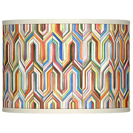 Synthesis Giclee Glow Lamp Shade 13.5x13.5x10 (Spider)
