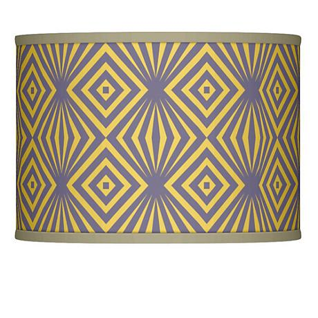Deco Revival Giclee Glow Lamp Shade 13.5x13.5x10 (Spider)