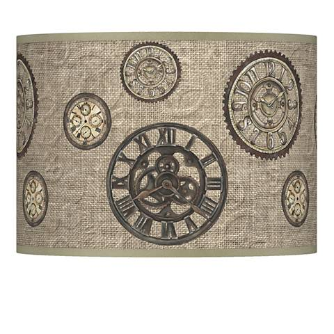 Timekeeping Giclee Glow Lamp Shade 13.5x13.5x10 (Spider)