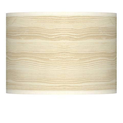 Birch Blonde Giclee Lamp Shade 13.5x13.5x10 (Spider)