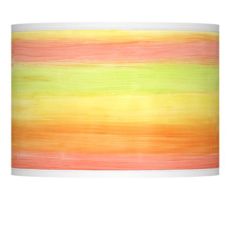 Rainbow Mist Giclee Lamp Shade 13.5x13.5x10 (Spider)