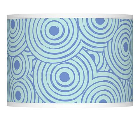 Circle Daze Giclee Lamp Shade 13.5x13.5x10 (Spider)