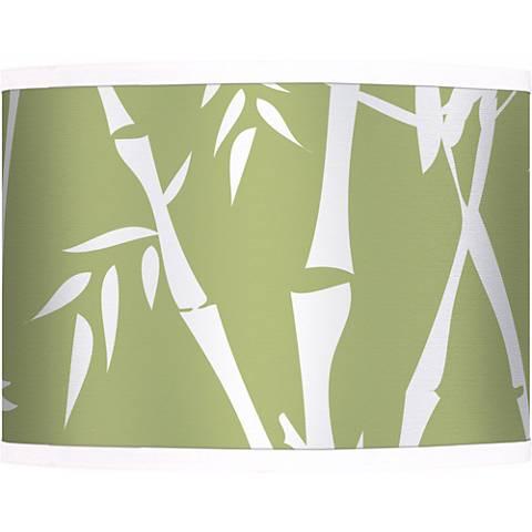 Lush Bamboo Giclee Glow Lamp Shade 13.5x13.5x10 (Spider)