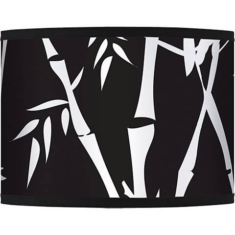 Night Bamboo Giclee Glow Lamp Shade 13.5x13.5x10 (Spider)