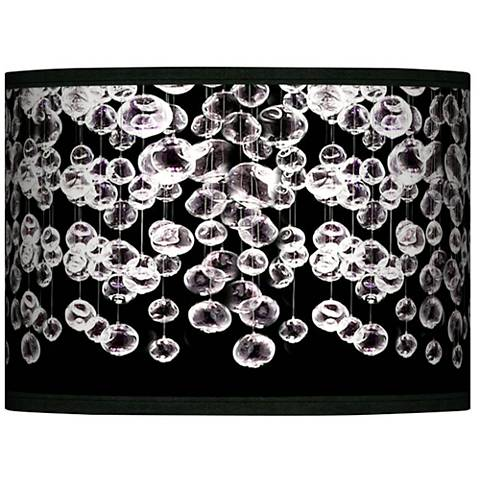Shimmer Giclee Glow Lamp Shade 13.5x13.5x10 (Spider)