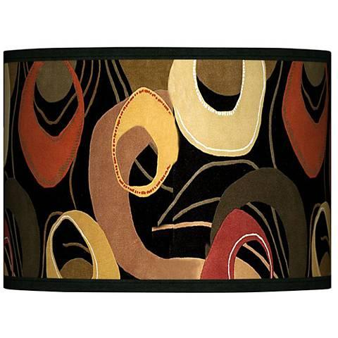 Rhythm Motif Giclee Glow Lamp Shade 13.5x13.5x10 (Spider)
