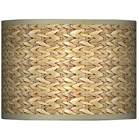 Seagrass Giclee Glow Lamp Shade 13.5x13.5x10 (Spider)