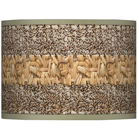 Woven Fundamentals Giclee Glow Lamp Shade 13.5x13.5x10 (Spider)