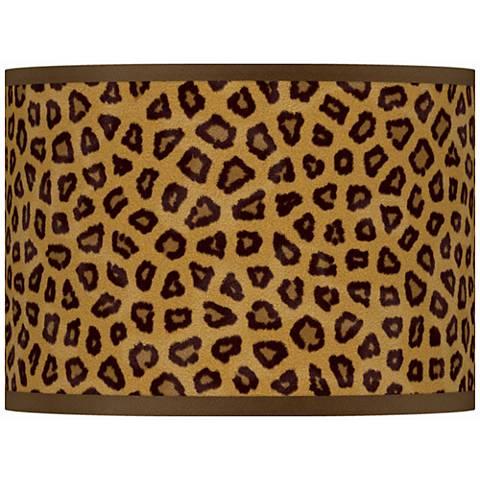 Safari Cheetah Giclee Glow Lamp Shade 13.5x13.5x10 (Spider)