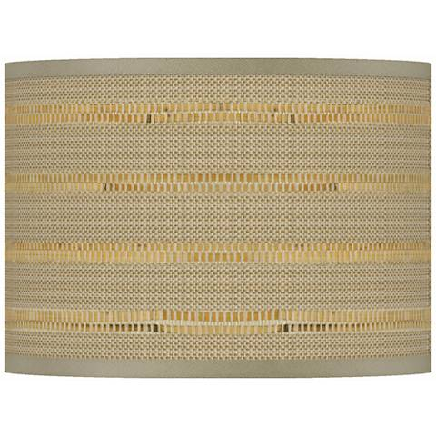 Woven Reed Giclee Shade 13.5x13.5x10 (Spider)