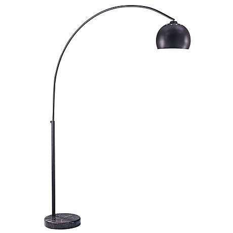 George Kovacs Dorian Bronze Arc Floor Lamp
