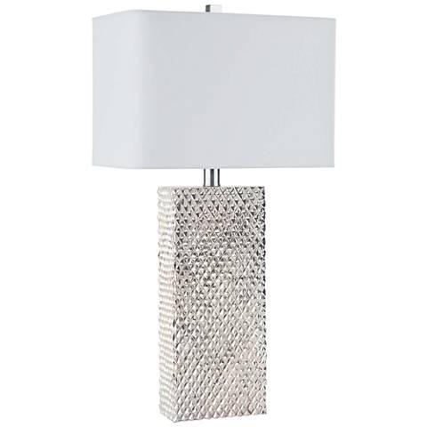Regina Andrew Marquette Platinum Table Lamp