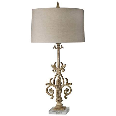Regina Andrew Iron Spire Metal Table Lamp