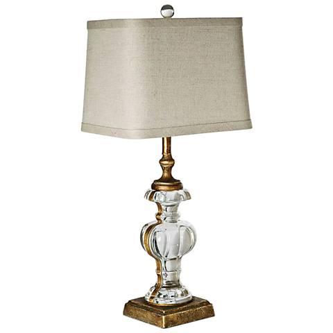 Regina Andrew Parisian Antique Gold Leaf Table Lamp