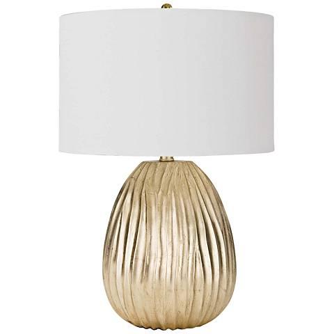 Regina Andrew Design Dune Gold Leaf Accent Table Lamp