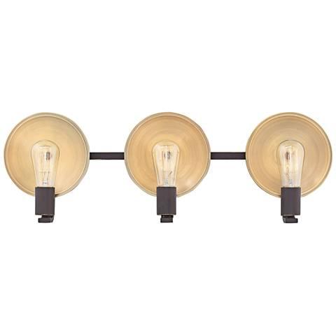 "Hinkley Boyer 26 3/4""W Oil Rubbed Bronze 3-Light Bath Light"