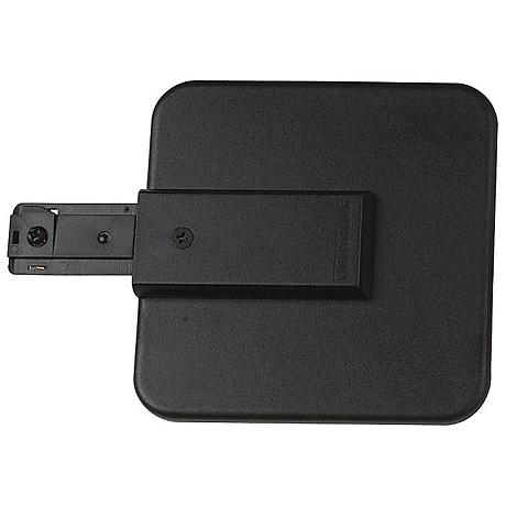 Lightolier Live End Canopy Feed in Black