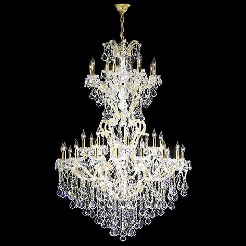 "James R. Moder 46"" Wide Maria Teresa Grand Chandelier"