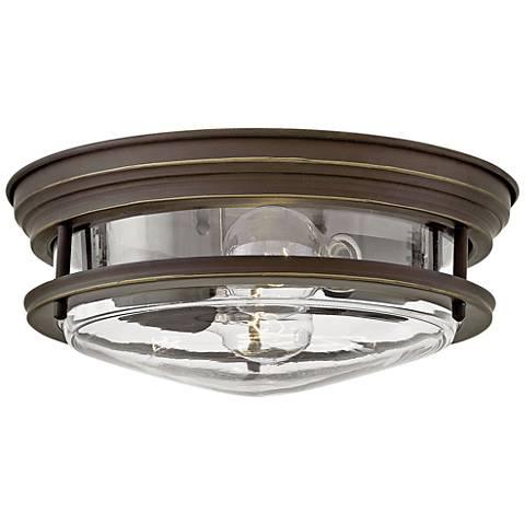 "Hinkley Hadley 12""W Oil Rubbed Bronze 2-Light Ceiling Light"