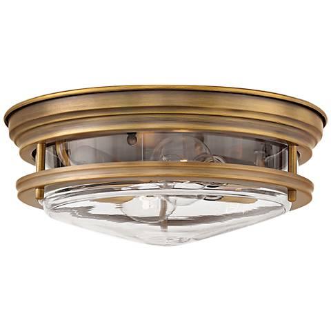 "Hinkley Hadley 12"" Wide Brushed Bronze 2-Light Ceiling Light"