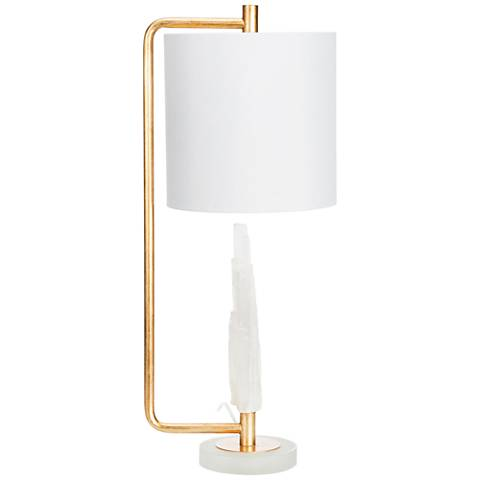 Couture Carr Brass Metal Table Lamp
