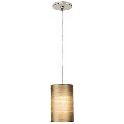 Fab Almond Satin Nickel Tech Lighting Mini Pendant