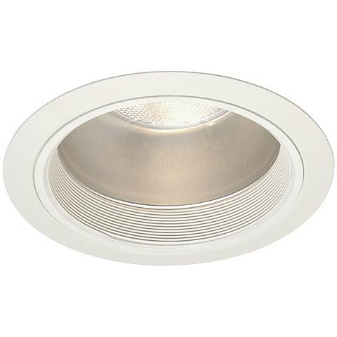 """Juno 6"""" Line Voltage Clear with Baffle Recessed Light Trim"""