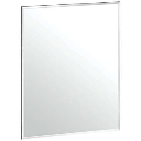 "Gatco Cameo Flush Mount 19 1/2"" x 24"" Frameless Wall Mirror"