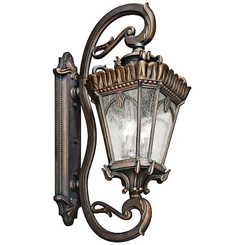 "Kichler Tournai 46"" High Londonderry Outdoor Wall Light"