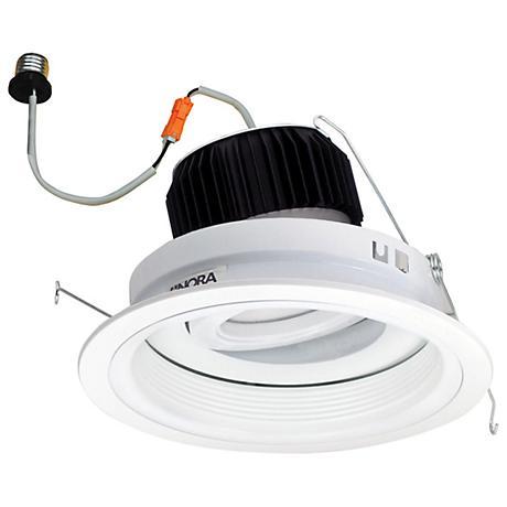 """LED 6"""" White 11W Adjustable Retrofit  Regressed Baffle Unit"""