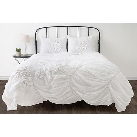 Hush Ruched Comforter Bedding Sets