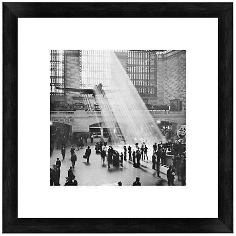 "Grand Central Station 20 1/2"" Square Giclee Wall Art"