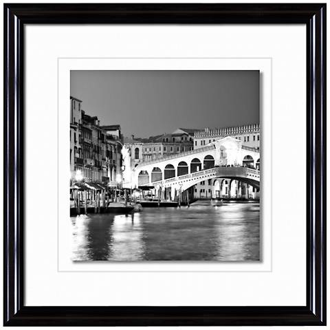 """Grand Canal Italy 20 1/2"""" Square Photo Giclee Wall Art"""