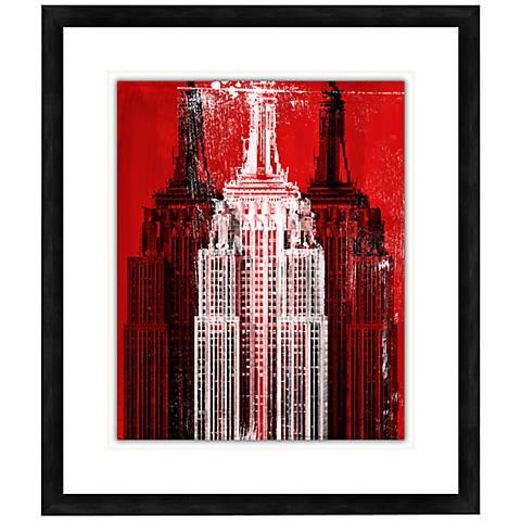 "Skyscraper II 28 1/2"" High Contemporary Giclee Wall Art"