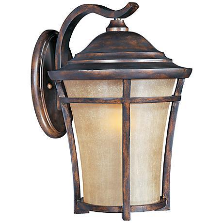 """Maxim Balboa VX 17 1/2"""" High Copper Oxide Wall Light"""