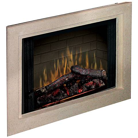 """Picture Frame Surround 33"""" Wide Electric Fireplace"""