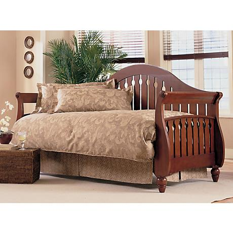 Fraser Traditional Walnut Wood Daybed