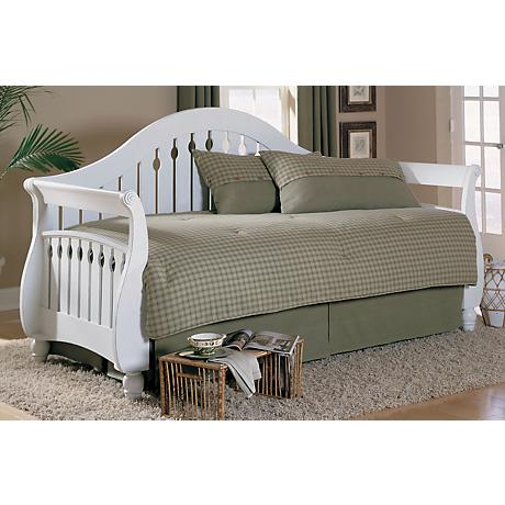 Fraser Traditional Frost Wood Daybed